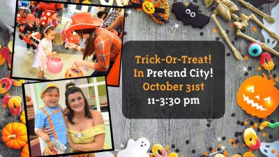 Trick or Treat @ Pretend City!