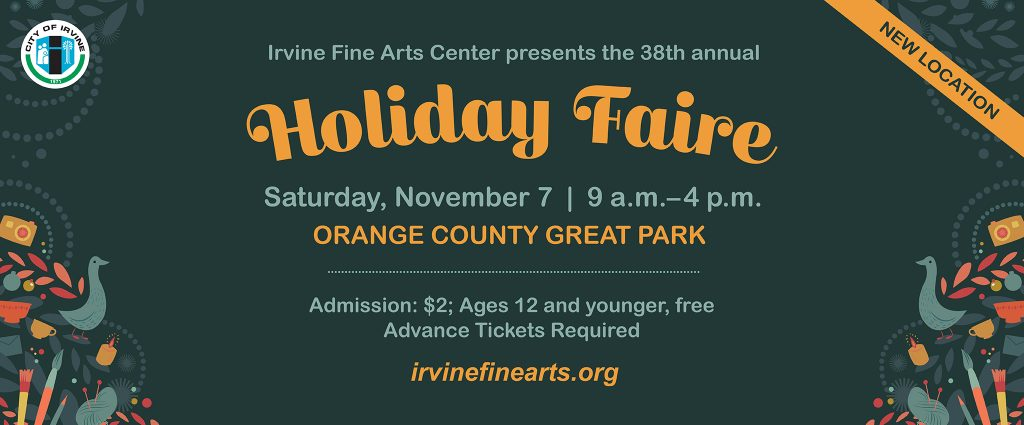Irvine Fine Arts Center - 2020.10.19-11.2