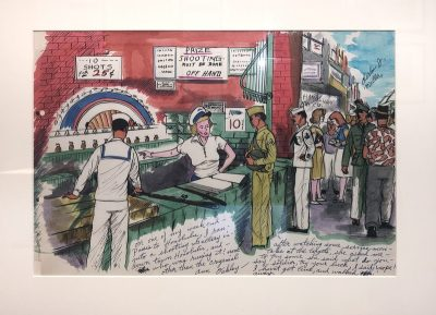 WWII Paintings of the South Pacific by Private Charles J. Miller