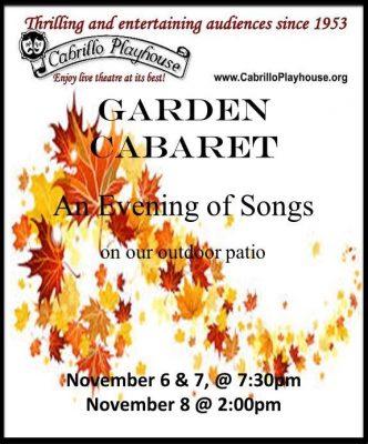 Garden Caberet @ Cabrillo Playhouse