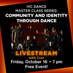 IVC Dance Virtual Master Class