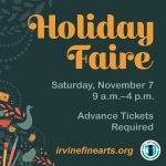 RE-SCHEDULED - 38th Annual Holiday Faire