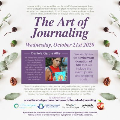 THE ART OF JOURNALING VIRTUAL EVENT TO GIVE CRIME ...