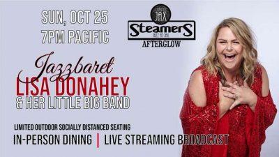 Lisa Donahey's JAZZBARET! Live Concert!