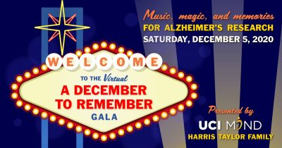 UCI MIND's A December to Remember Gala