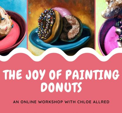 The Joy of Painting Donuts