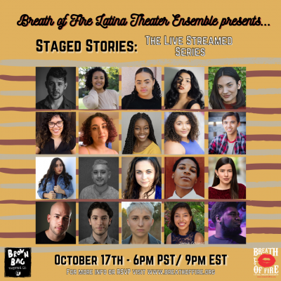 STAGED STORIES The Live Streamed Series- Ep #5: Transforming the Narrative