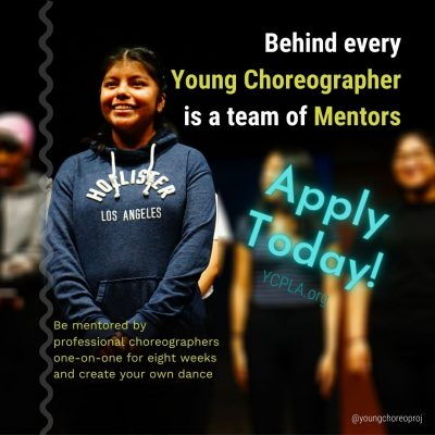 Dance Choreography Intensive for Teens