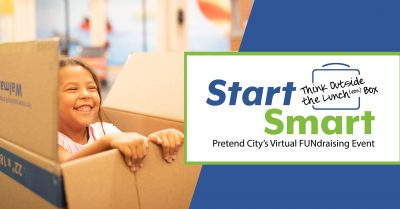 Pretend City's Virtual Fundraiser