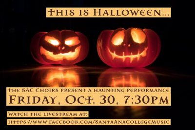 Live Stream:  Halloween Video Musicals