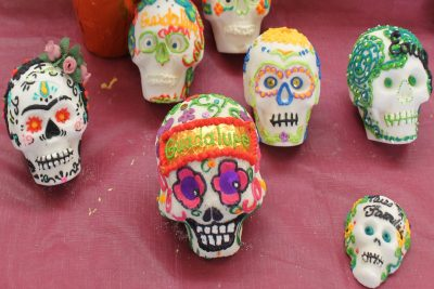 Anne's Treasures Art Kits:  Mexican Day of the Dead Sugar Skulls