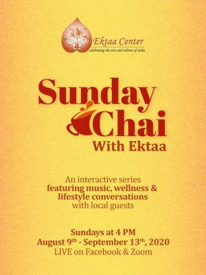 Sunday Chai with Ektaa Center