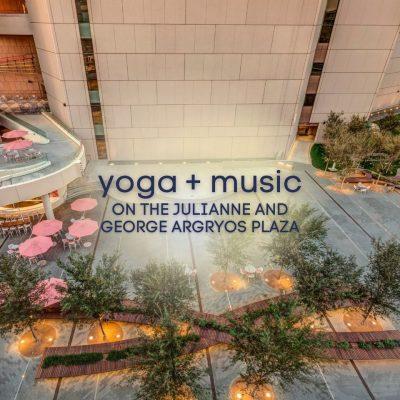Yoga on Argyros Plaza