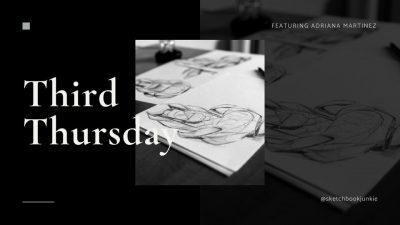 Third Thursday @ Muzeo:  Sketchbook Junkie