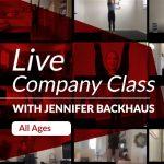 Live Company Class with Jennifer Backhaus