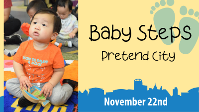 Baby Steps with Pretend City