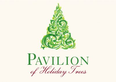 Pavilion of Holiday Trees at So Coast Plaza
