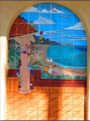 United Gas Tile Mural