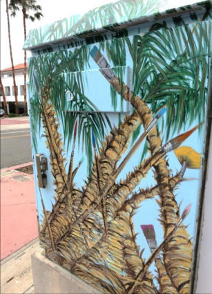 Palm Trees and Paint Brushes