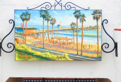 Untitled: Pier/ Beach Scene
