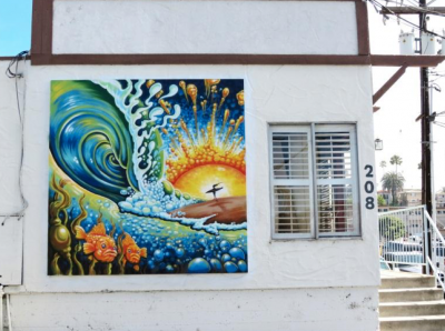 Untitled: Surf Scene