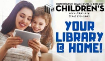 Huntington Beach - Your Library @ Home!
