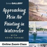 Online:  Approaching Plein Air Painting in Watercolor