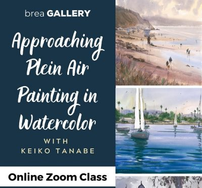 Online:  Approaching Plein Air Painting in Waterco...