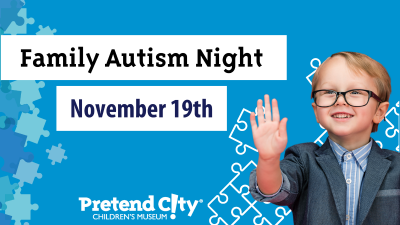 Family Autism Night at Pretend City