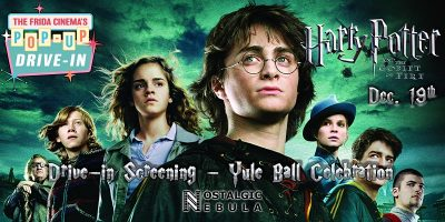 Drive-in Movie:  Harry Potter and the Goblet of Fire