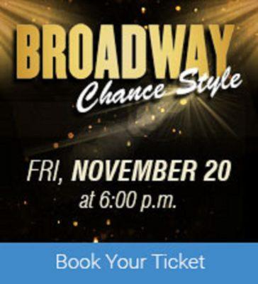 Live:  Broadway Chance Style