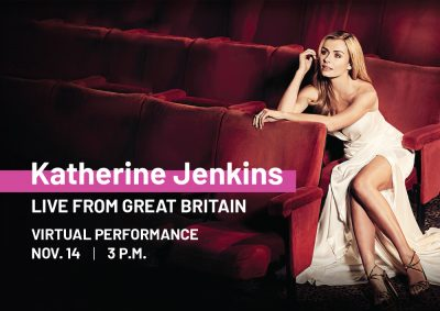 Live from Great Britain:  Katherine Jenkins