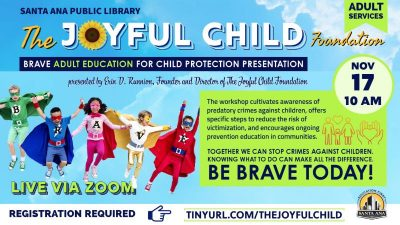 Online:  Brave Adult Education for Child Protection