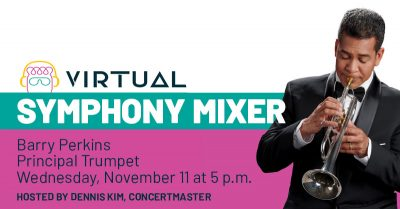 Pacific Symphony Mixer with Barry Perkins