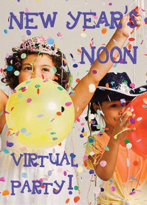 Virtual Noon Year's Celebration