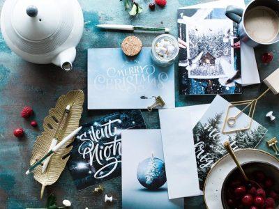 Holiday Cards: Take Home Kits @ Casa Romantica