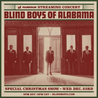 Livestream: Blind Boys of Alabama