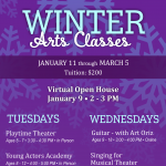 Arts & Learning Winter Classes