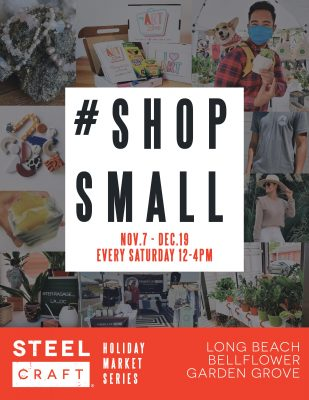 Shop Small + Give Back with SteelCraft