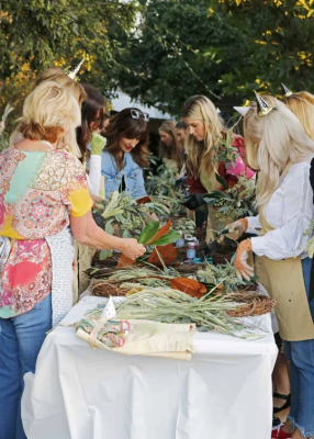 Get Festive at Molly Wood's Wreath-Making Worksh...