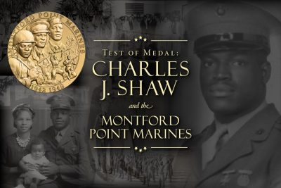 Bowers Online:  Legacy of the Montford Point Marines with Mr. L.E.Johnson