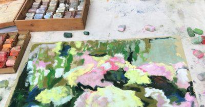 Online:  Pastels en Plein Air