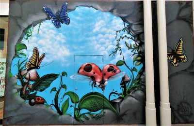 Secret Garden Mural