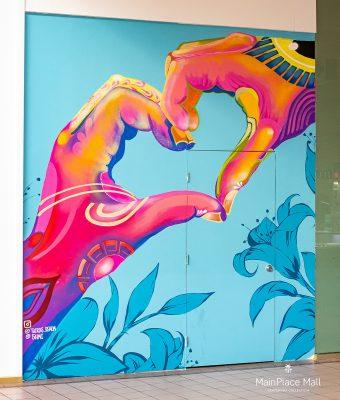 Spread Love Mural