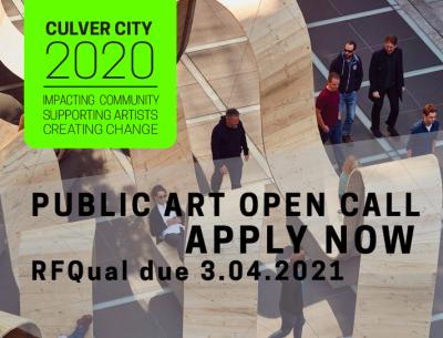 Open Call:  Culver City Public Art