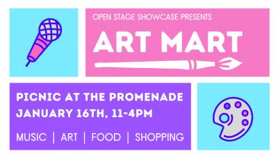 DTSA:  Open Stage Art Mart