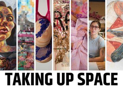 Brea Art Gallery:  Taking Up Space