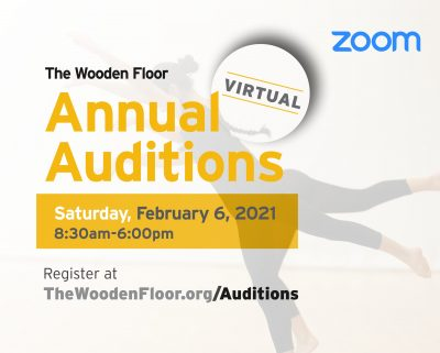 The Wooden Floor's Virtual Annual Auditions