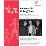 Girls Inc. of Orange County: Women for Girls Membership Kick-off Event