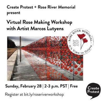 Rose Making Workshop - Rose River Memorial